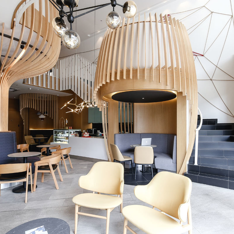 A Design Award - Quaint and Quirky by Chaos Design Studio #DessertCafe #InteriorDesign #CafeDesign