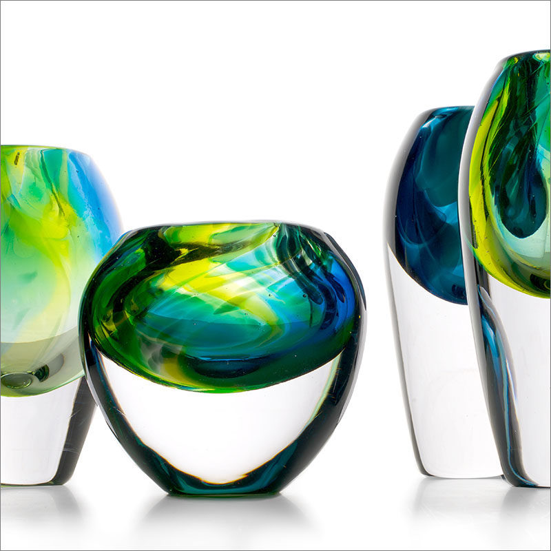 A Design Award Winner - Dutz - Jungle Collection Glass Vase by Sini Majuri. #ADesignAward