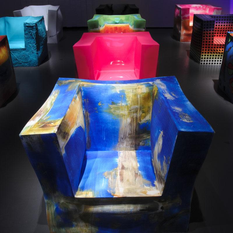 A Design Award Winner - Iperbolica Armchairs by Alessandro Ciffo #ADesignAward
