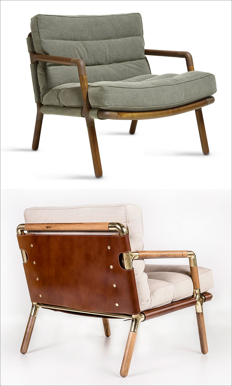 A Design Award Winner - Lina Armchair by Fernanda and Leo Mangiavacchi #ADesignAward