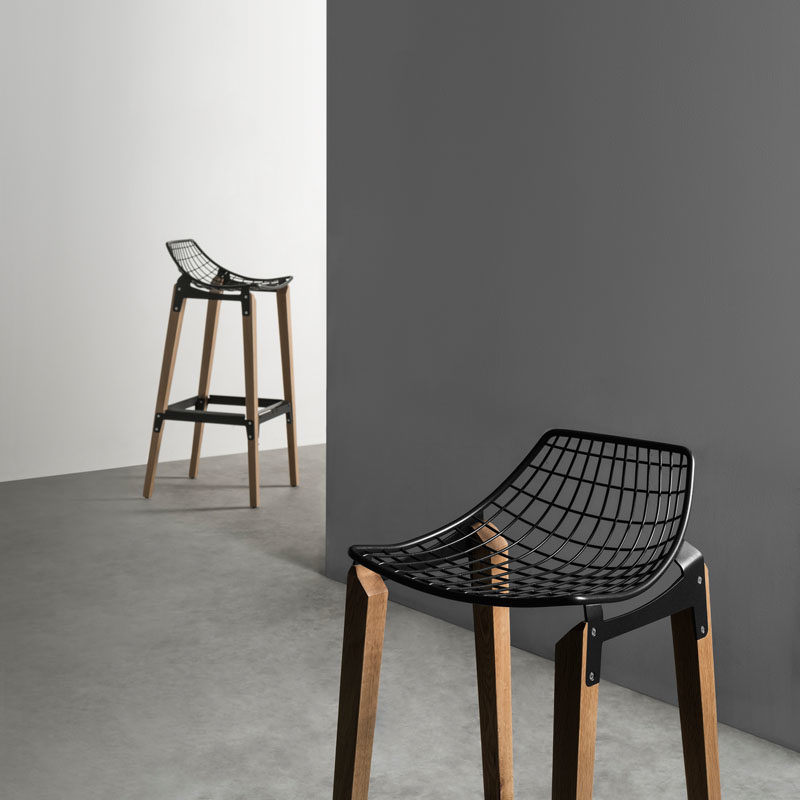 A Design Award Winner - Carbon Barstool by Homel Design Furniture #ADesignAward