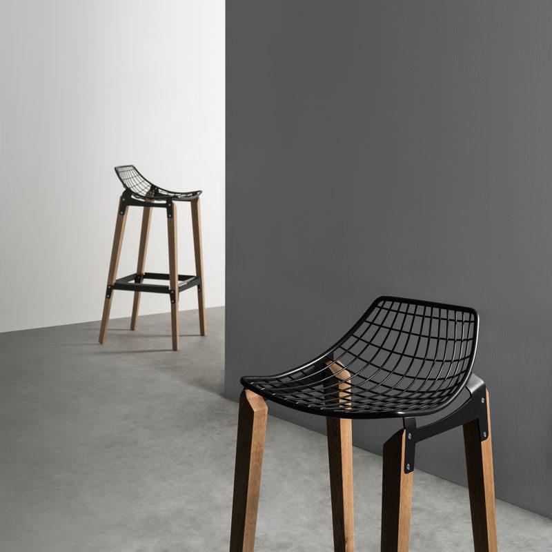 A Design Award Winner - Carbon Barstool by Homel Design Furniture #ADesignAward