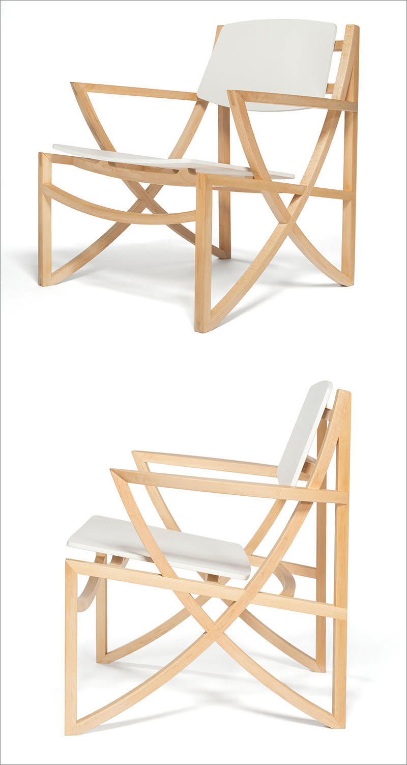 A Design Award Winner - Arc Armchair by Hung Yuan Chang #ADesignAward