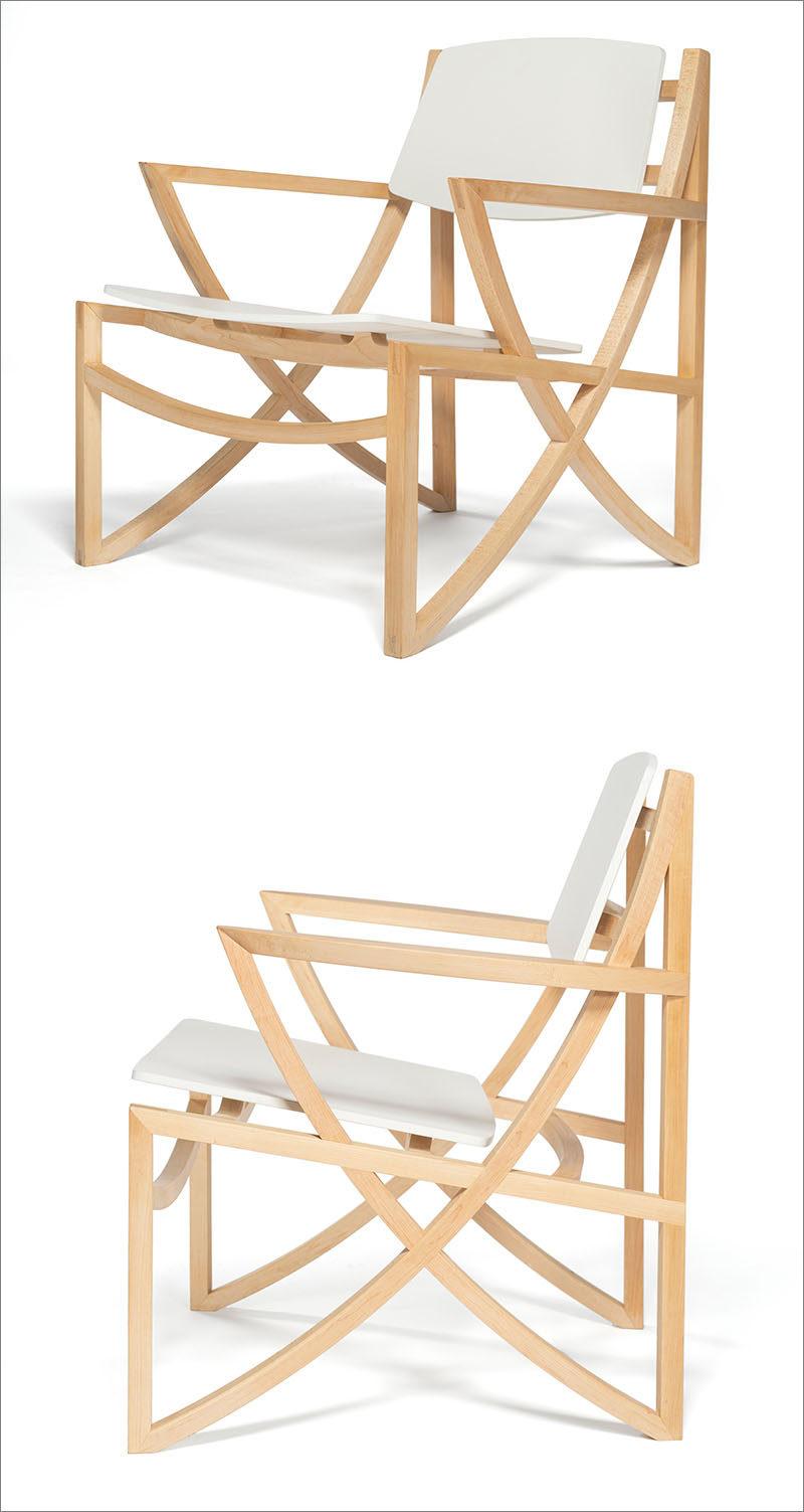 A Design Award Winner - Arc Armchair by Hung Yuan Chang #ADesignAward