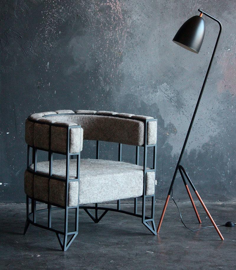 A Design Award Winner - BRUK Armchair by Andrei Reshetin - Black Owl #ADesignAward