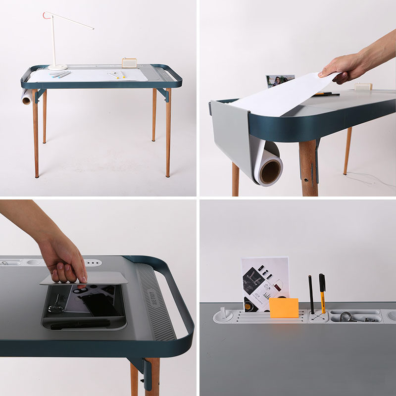 A Design Award Winner - Modular Desk Design Table by Yuanyuan Yang #ADesignAward