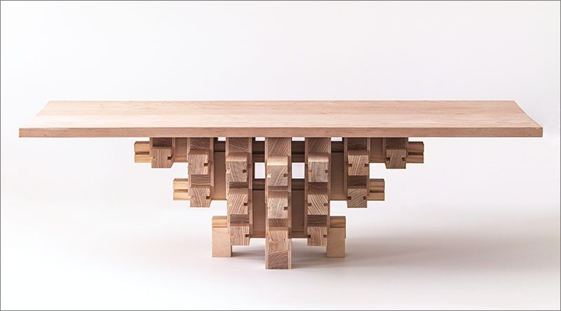 A Design Award Winner - Grid Table by Mian Wei #ADesignAward