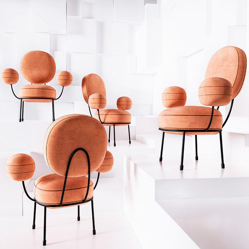 A Design Award Winner - Lollipop Armchair by Natalia Komarova #ADesignAward