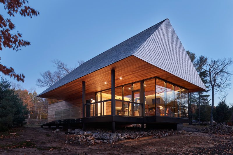 A Collection Of Modern Cabins Have Been Added To This Canadian Golf Club