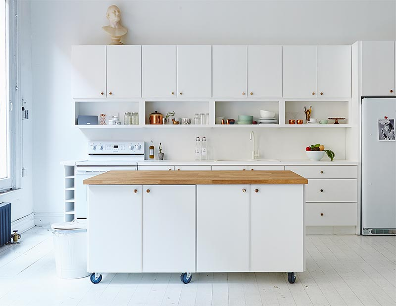 7 Portable Kitchen Island Design Ideas For Your Home