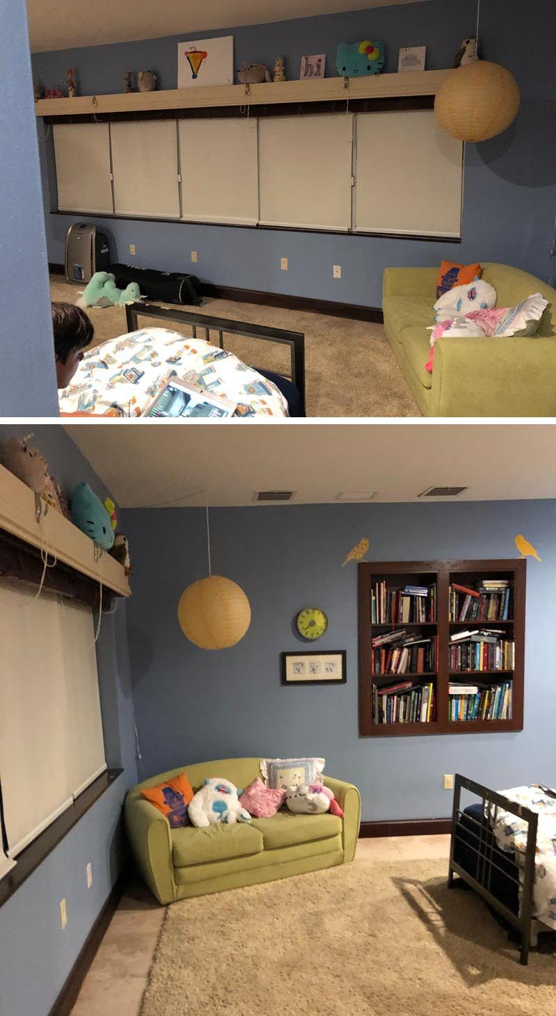 BEFORE PHOTO - Francis Dominguez of EFE Creative Lab has recently completed the contemporary renovation of a bedroom in a home in Miami, Florida. #BedroomRenovation #BedroomUpdate #GuestRoom #InteriorDesign