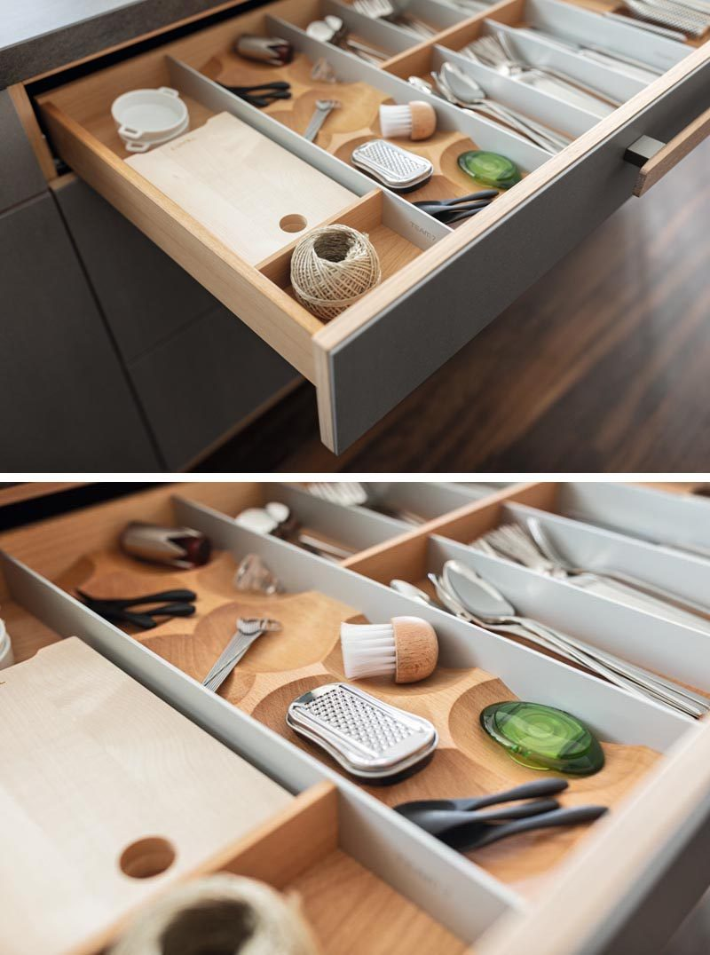 Kitchen Drawer Organizers Can Do More