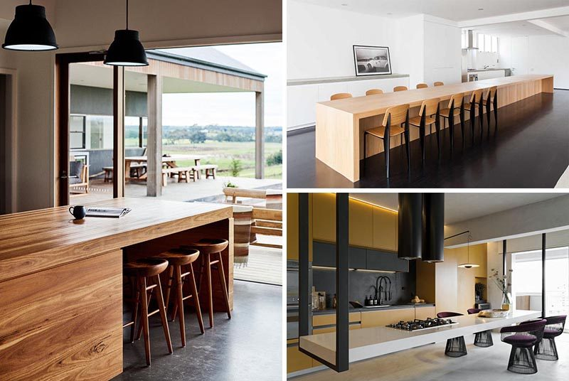 6 Clever Ideas To Create A Kitchen Island With Seating