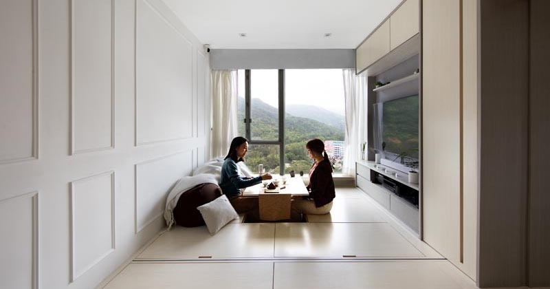 A Small Apartment In Hong Kong Makes Smart Use Of Its 492