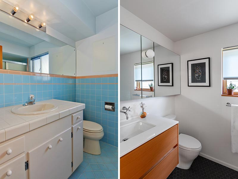 As part of a renovation project, Seattle-based SHED Architecture & Design transformed a dated bathroom and brought it up to today's standards. #BathroomRenovation #BathroomRemodel