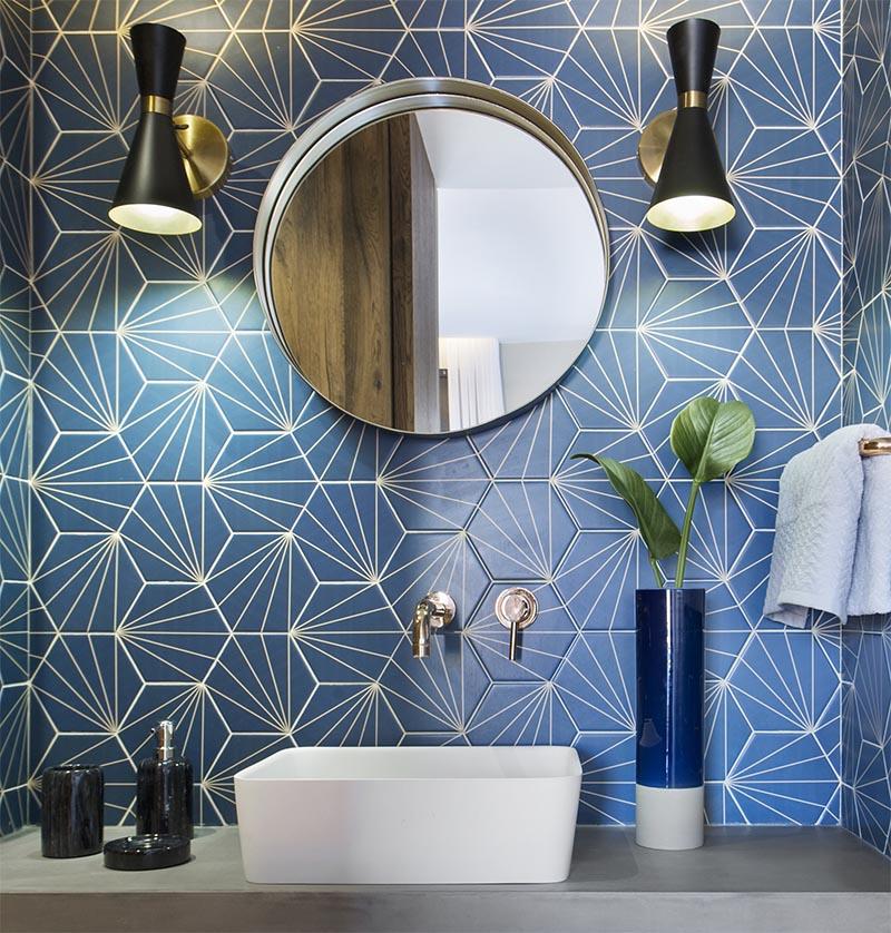 Round Bathroom Tiles