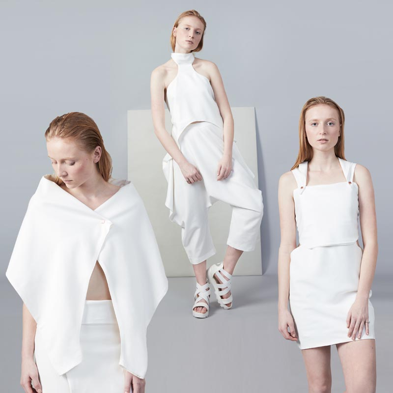 Omdanne Convertible Biodegradable Clothing by Cristina Dan. #Fashion #Style