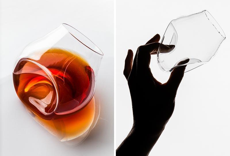 30s Cognac Glass by Saara Korppi #Drinkware #Glassware #Design