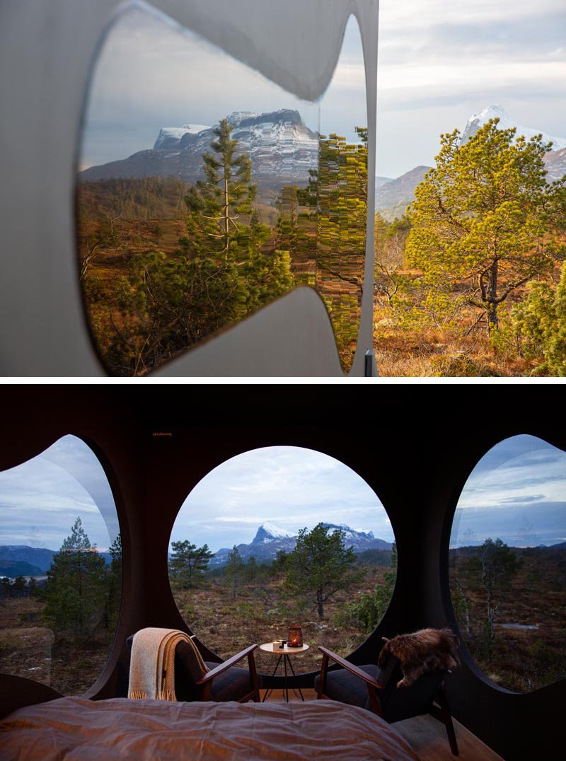 Torstein Aa, Norwegian designer and co-founder of Livit, has created Birdbox, a small adventure cabin for travelers looking for unique experience, as well as a sense of freedom and calmness. #SmallCabin #Architecture