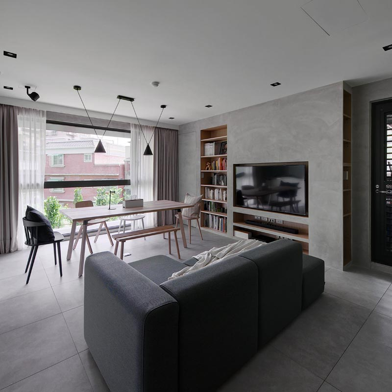 About Enframed Residential House by Yi-Hsiang, Cheng & Yu-Ting, Chung.