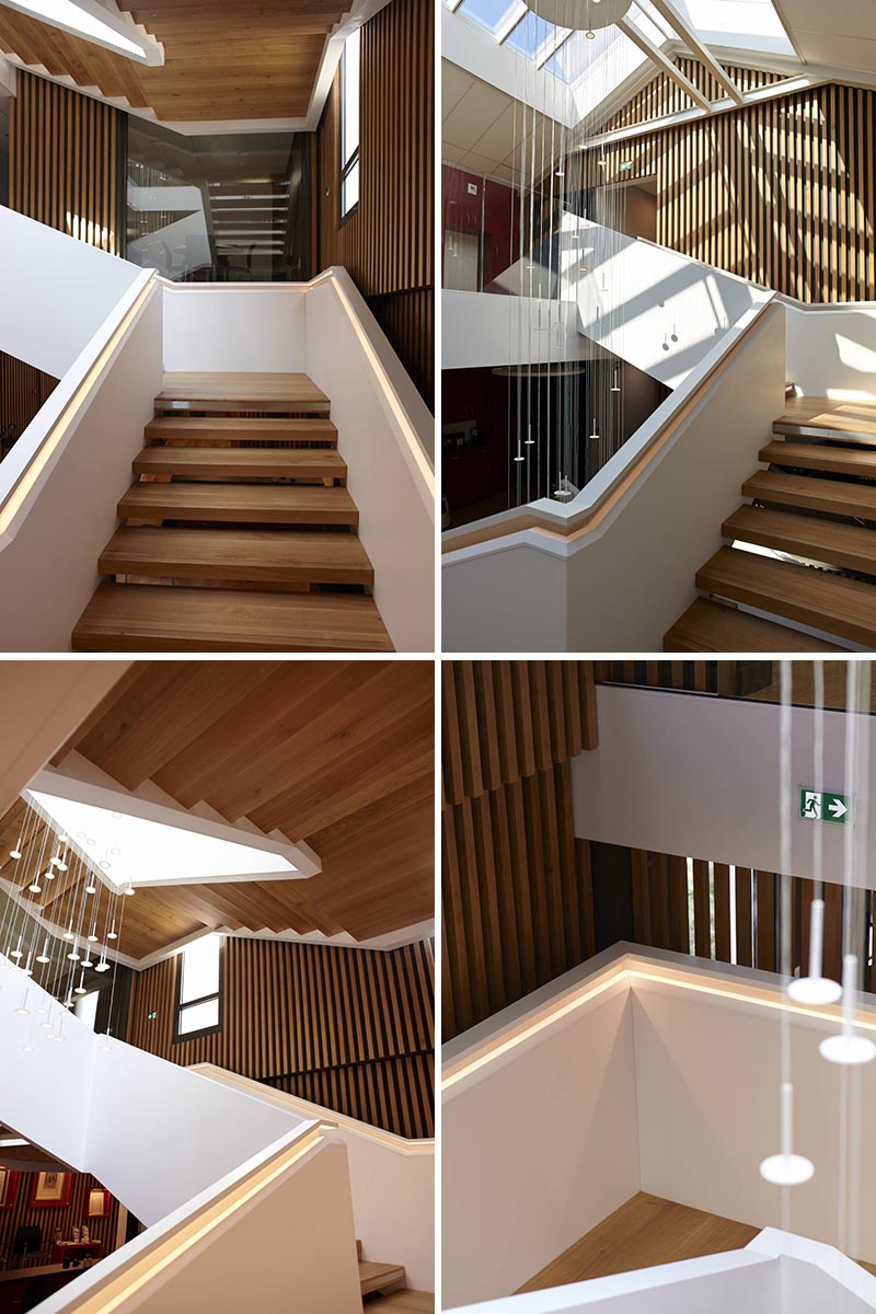 A Handrail With Hidden Lighting Is A Bright Idea For These ...