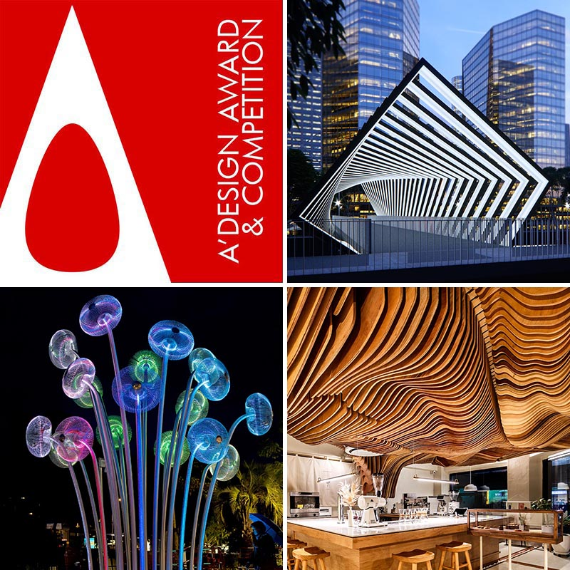 A' Design Award & Competition is the Worlds' leading design accolade reaching design enthusiasts in over 107 countries.