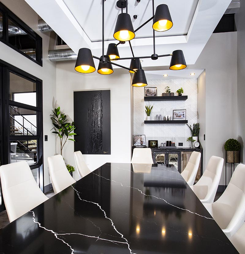 A Suspended Ceiling Hides Ducting And