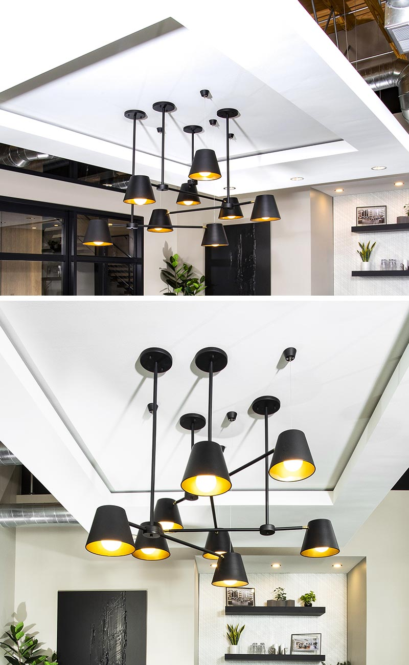 Conference Room Lighting Design: A Suspended Ceiling Hides Ducting And Creates A Place For