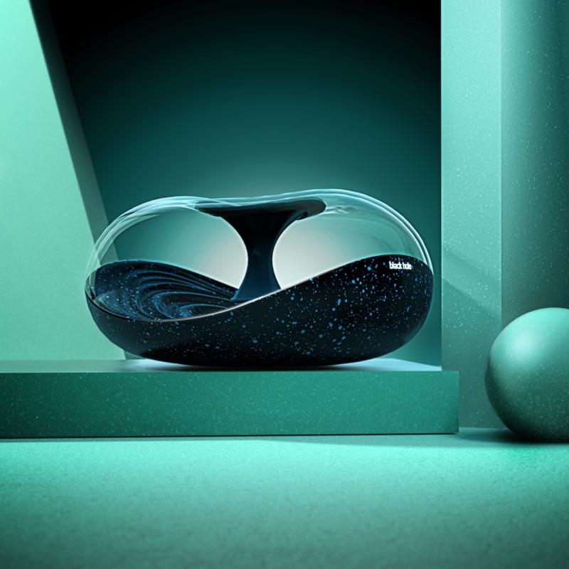 Black Hole Speaker by Arvin Maleki and Ayda Mohseni
