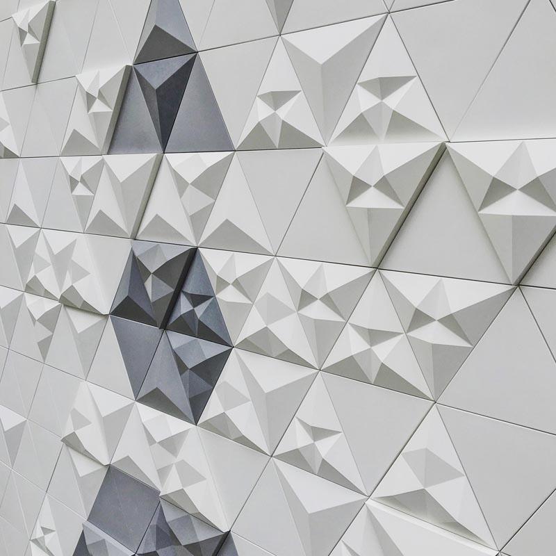 Tri Modular Concrete Tiles