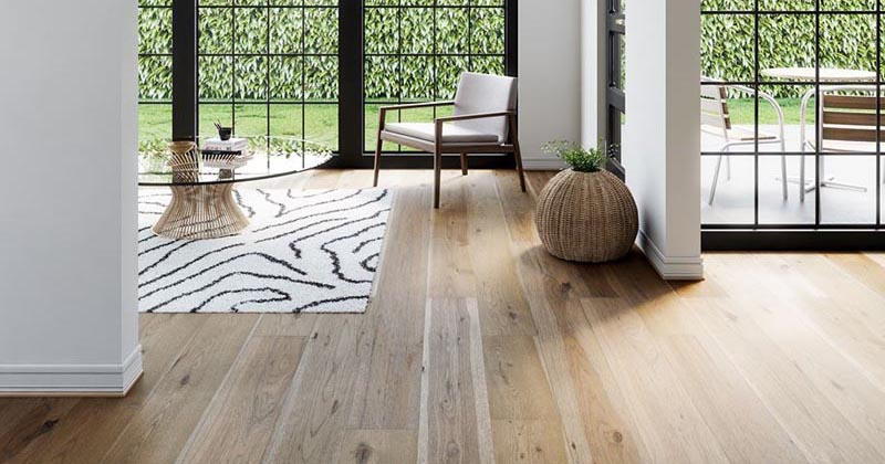 Designing With Lighter-Toned Wide Plank Wood Flooring