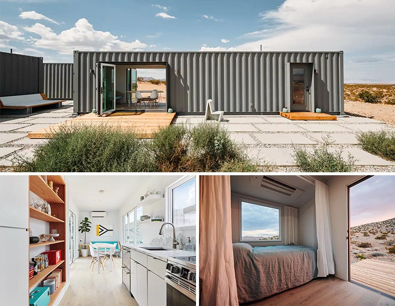 A Shipping Container House Makes The California Desert Its Home