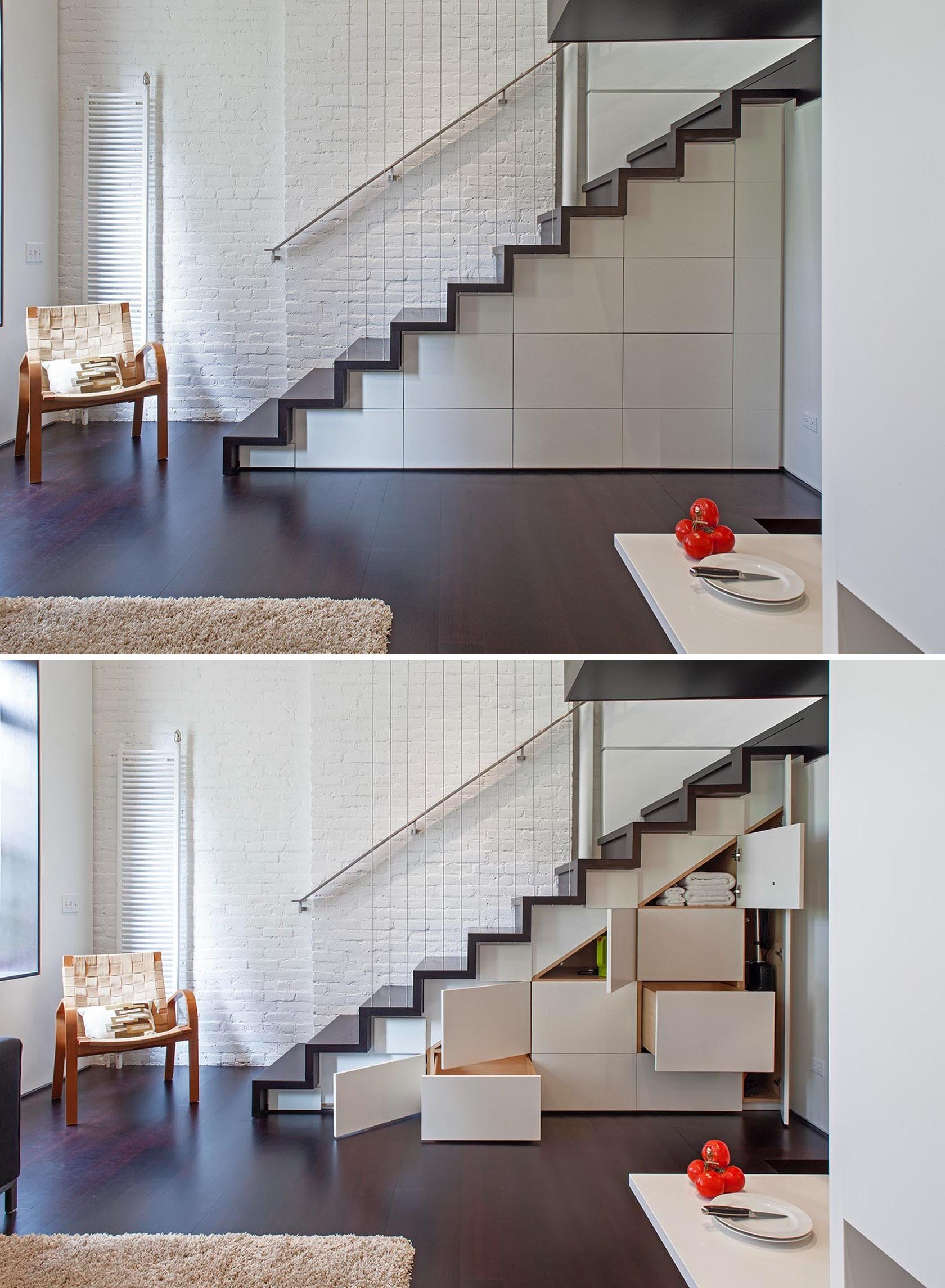 Under stair storage cabinets in a variety of sizes.