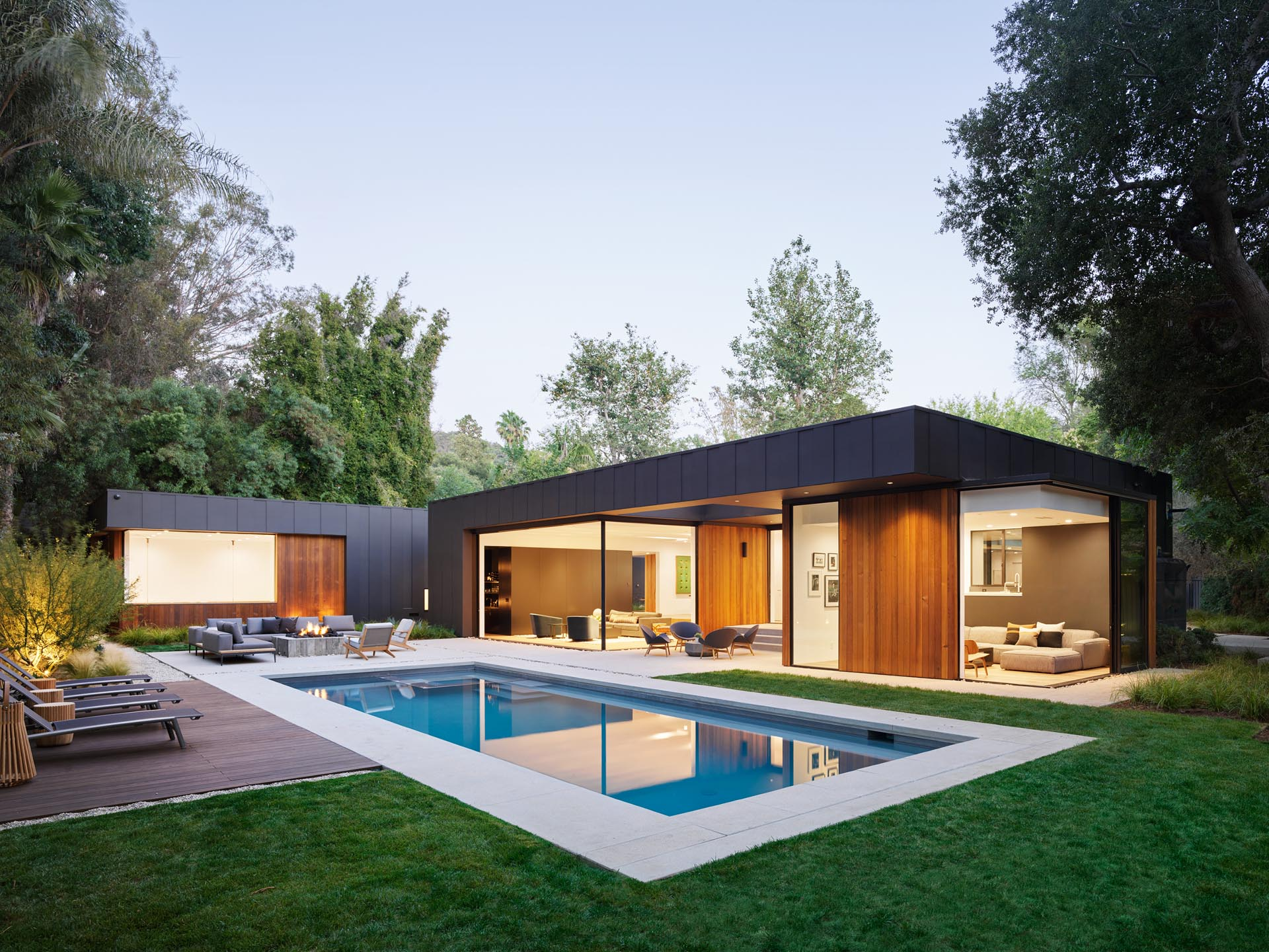 The Laurel Hills Residence In Los Angeles, California