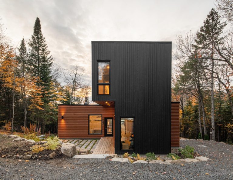This Modern Home Was Made From Five Custom Prefab Modules