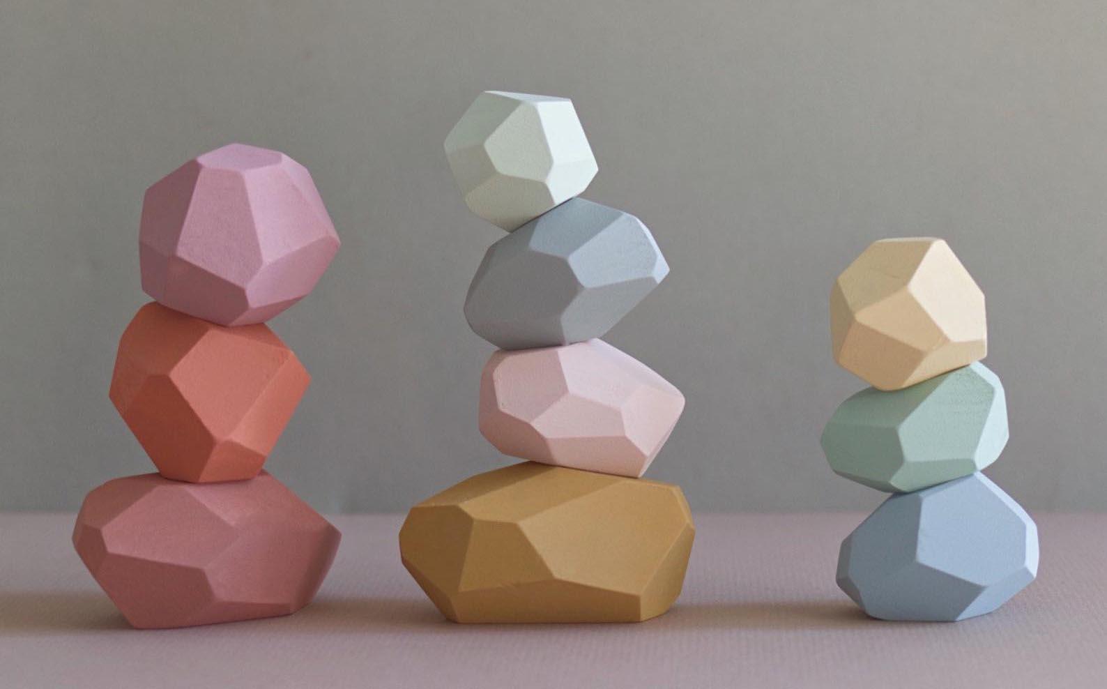 Gift Idea - Pastel Balancing Stones