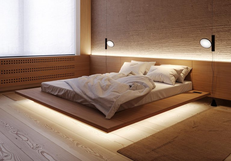 LED Lighting Allows This Bed To Appear As If It's Floating