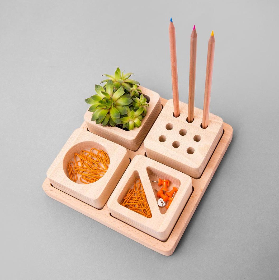 Gift Idea - 4 in 1 Desk Organizer