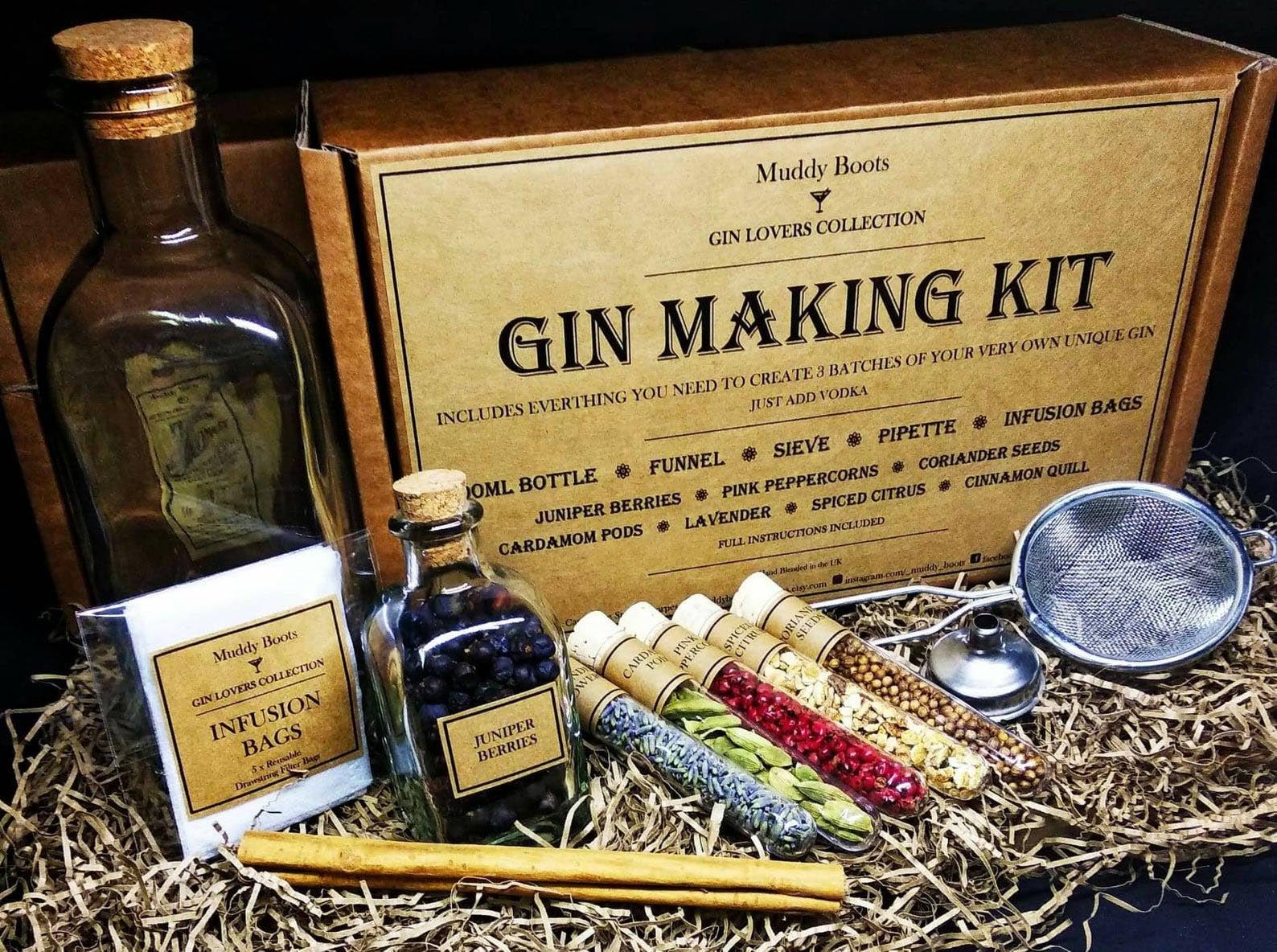 Gift Idea - Gin Making Kit