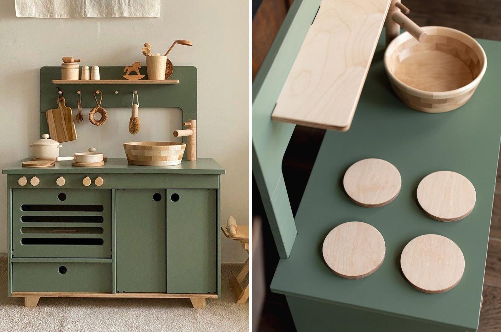 Gift Idea - Wood Play Kitchen