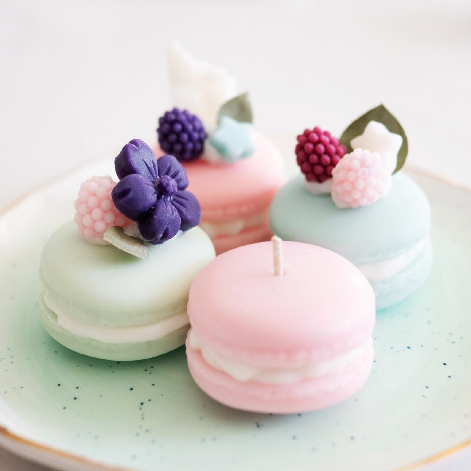 Gift Idea - Macaron Candles