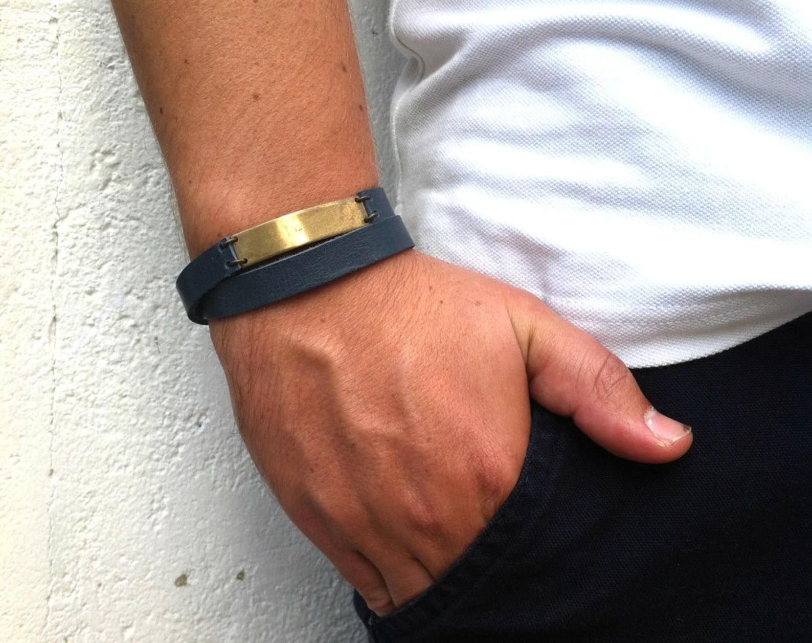 Gift Idea - Leather Bracelet