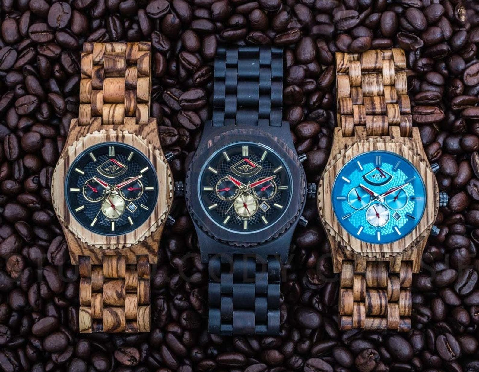 Gift Idea - Zebrawood Men's Watch