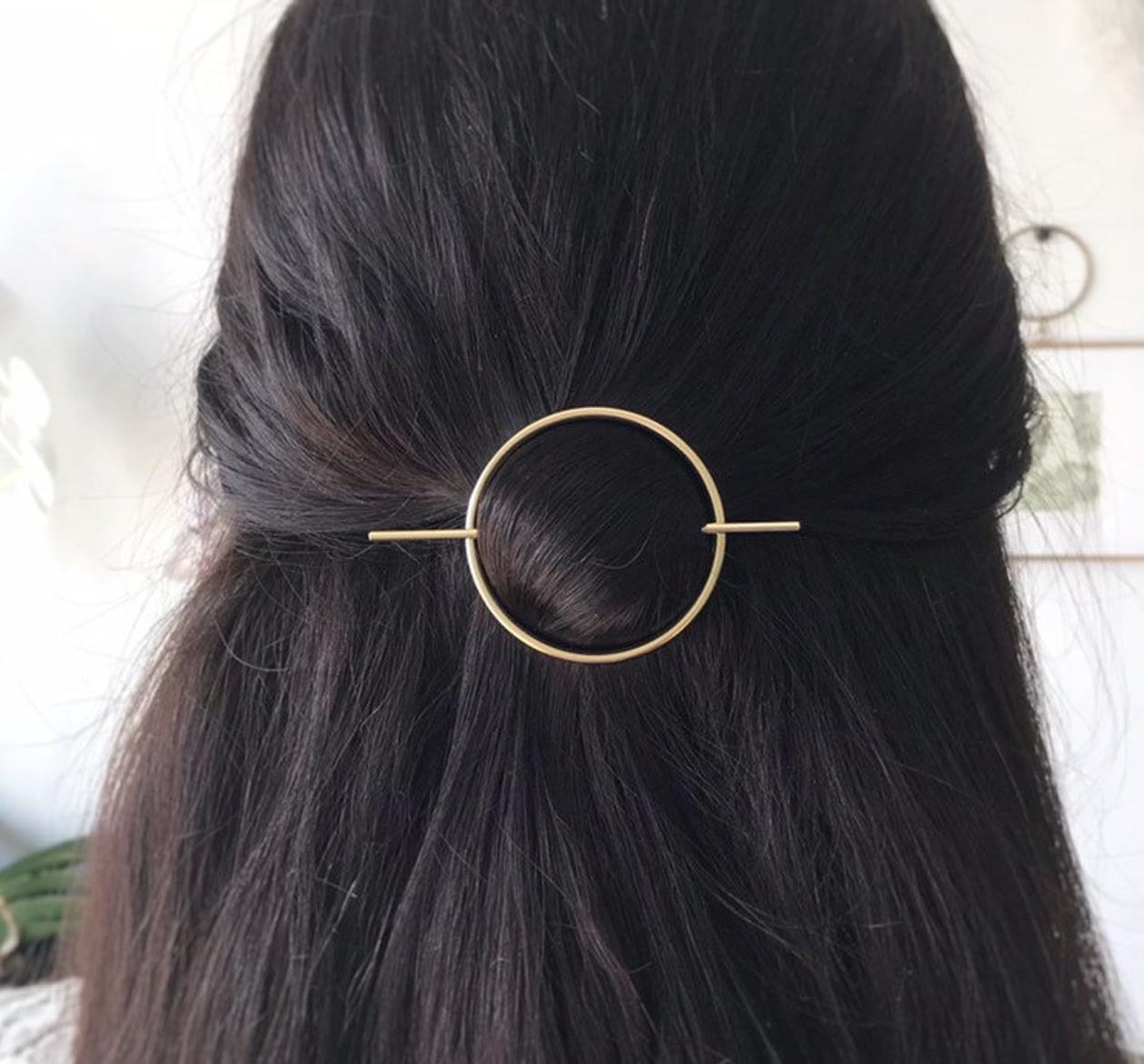 Gift Idea - Gold Hair Clip