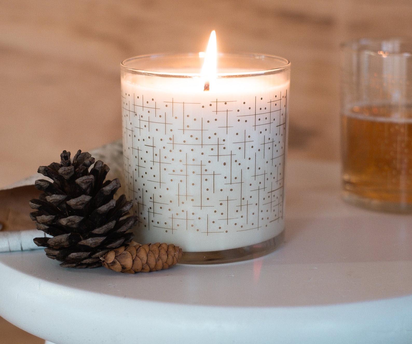 Gift Idea - Ridgeway Mod Geometric Candle