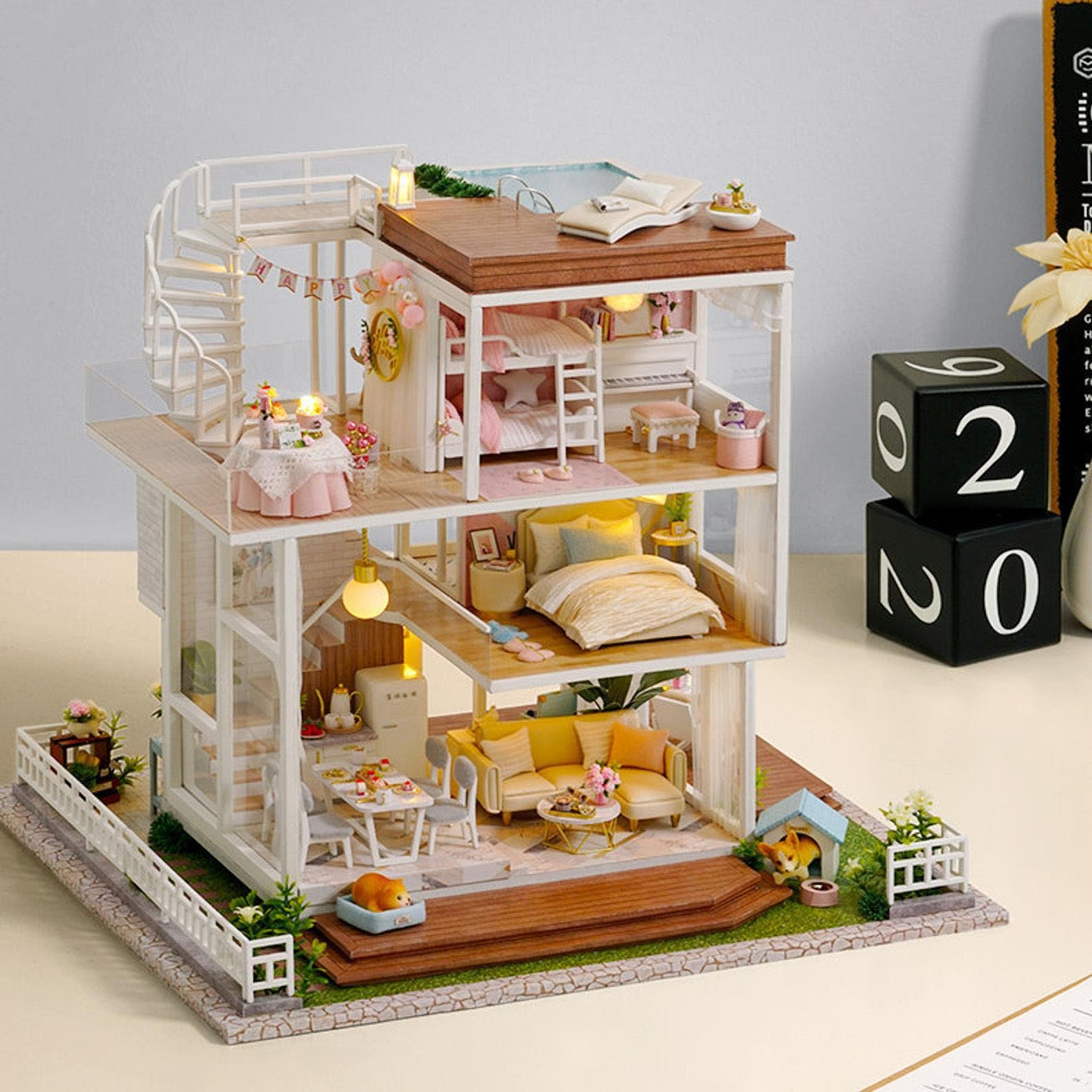 Gift Idea - A DIY Dollhouse Kit
