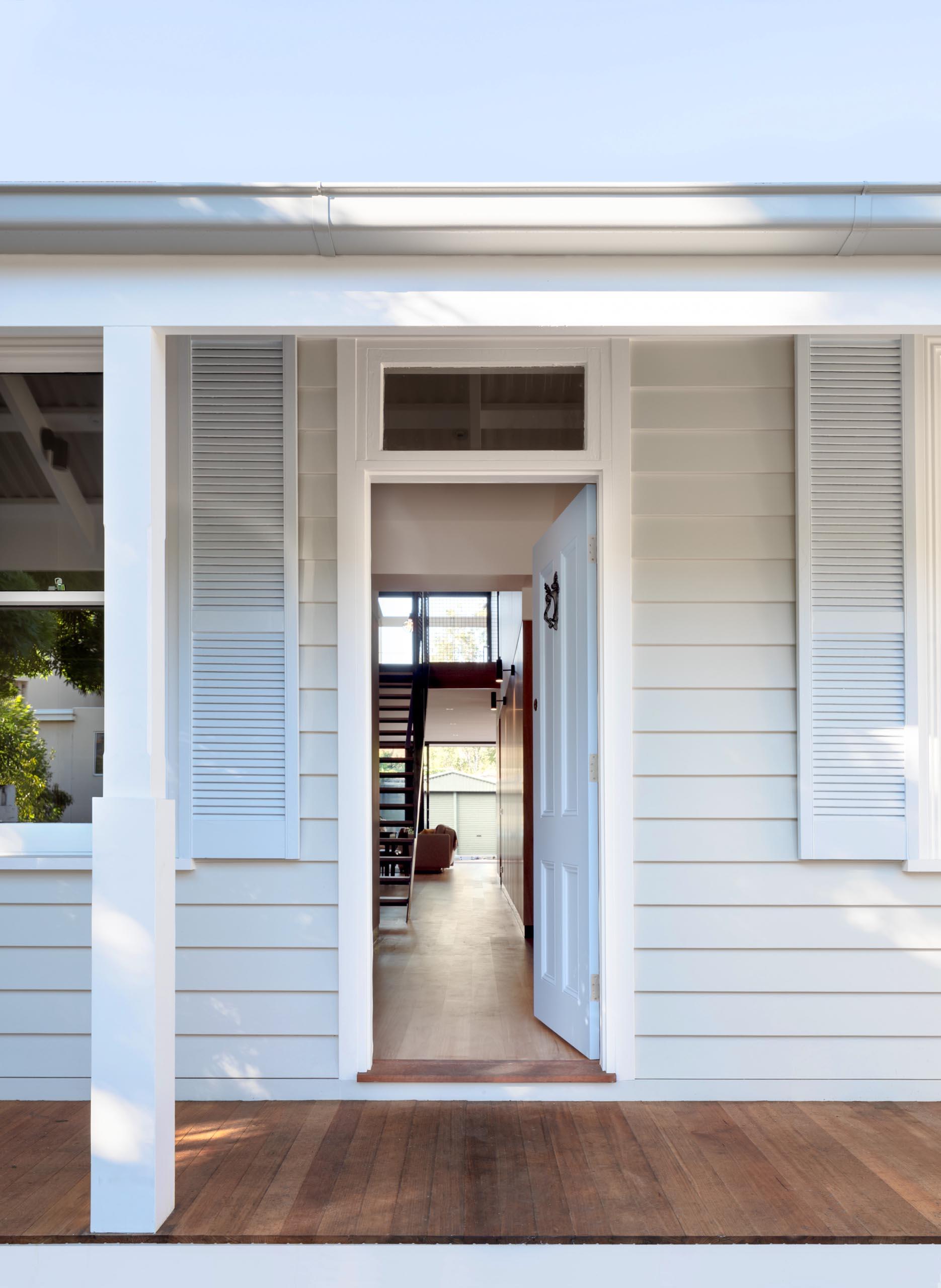 A quaint Australian workers cottage.