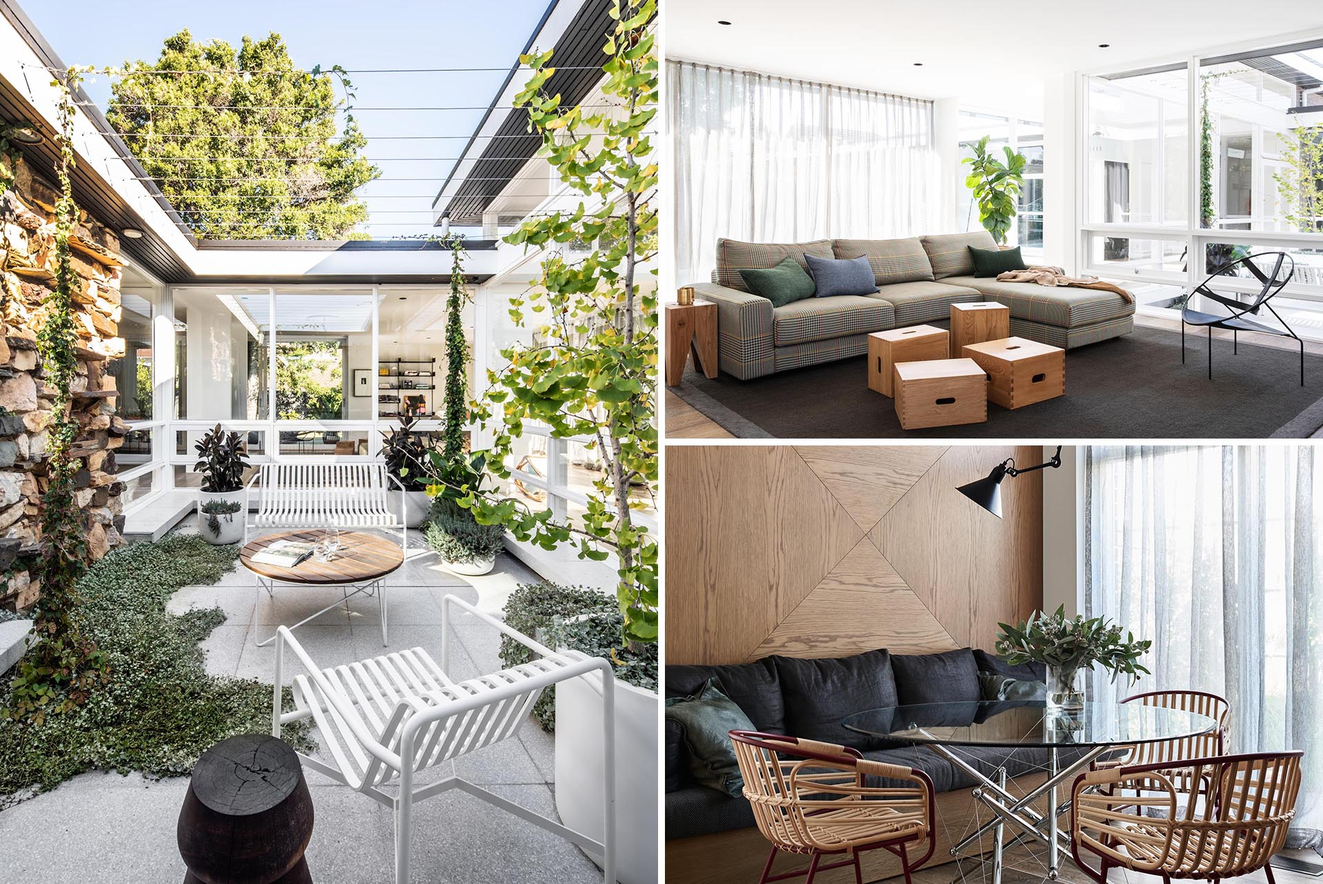 Chelsea Hing Interior Design Studio has given a contemporary new interior to a mid-century modern home that had been left untouched since the 1950s.