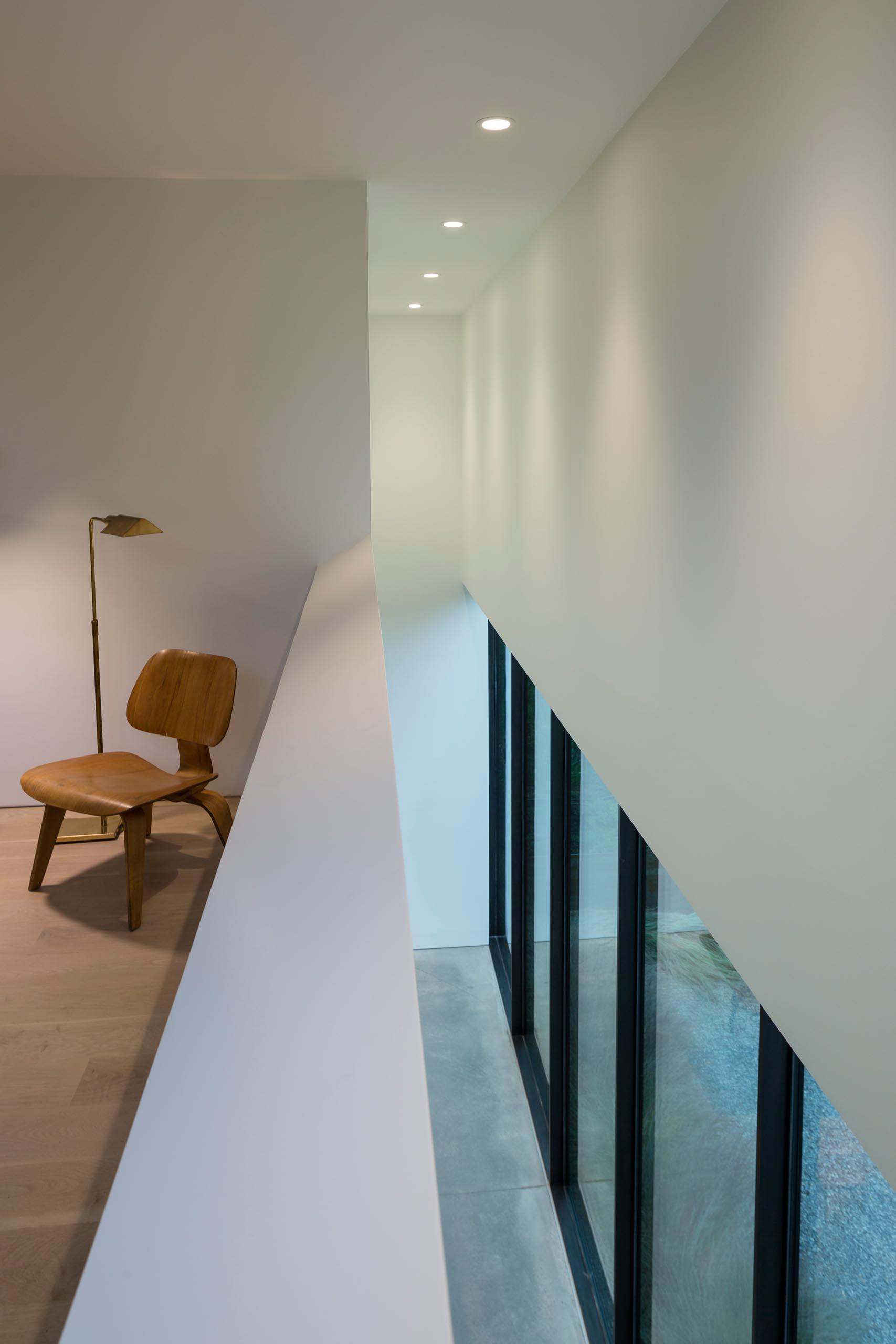 A modern home interior.