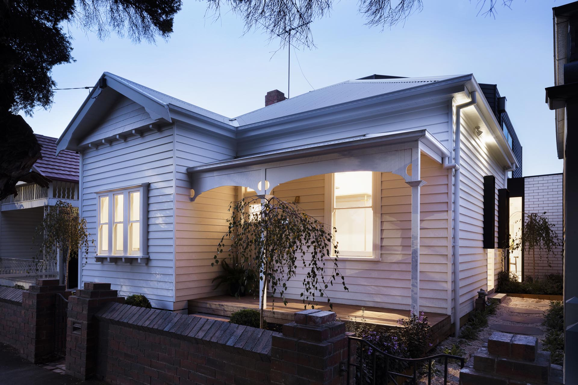 Preston Lane Architects has designed the renovation of an existing unliveable house in Brunswick, Victoria.